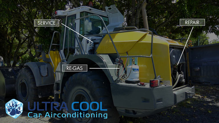 Heavey Vehicles Air Conditioning Repairs